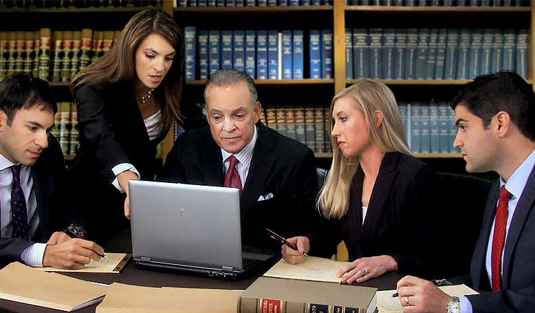 Attorney Alana Anzalone with Team | Anzalone Law Offices