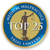 Top 25 medical Malpractice Attorney in Pennsylvania by the National Trial Lawyers Association
